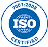 9001:2008 ISO Certified